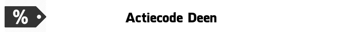 Actiecode Deen